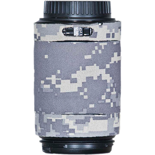 LensCoat Lens Cover for Canon 55-250mm f/4.0-5.6 IS AF Lens (Digital Army Camo)