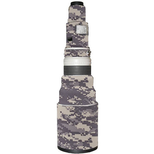 LensCoat Lens Cover for the Canon 600mm f/4 Non IS Lens (Digital Camo)