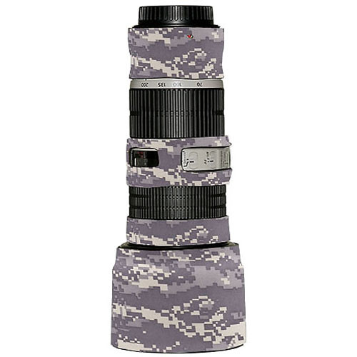 LensCoat Lens Cover for the Canon 70-200mm f/4 IS Lens (Digital Camo)