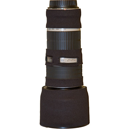 LensCoat Lens Cover for the Canon 70-200mm f/4 Non-IS Lens (Black)