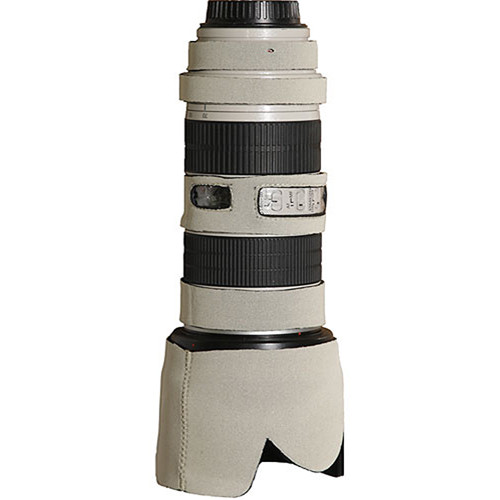 LensCoat Lens Cover for the Canon 70-200mm f/4 Non-IS Lens (Canon White)