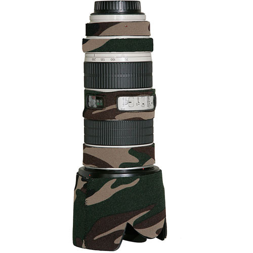 LensCoat Lens Cover for the Canon 70-200mm f/4 Non-IS Lens (Forest Green)