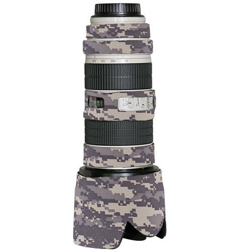 LensCoat Lens Cover for the Canon 70-200mm f/2.8 IS Lens (Digital Camo)