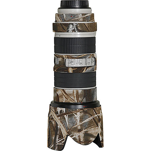 LensCoat Lens Cover for the Canon 70-200mm f/2.8 IS Lens (Realtree Max4 HD)