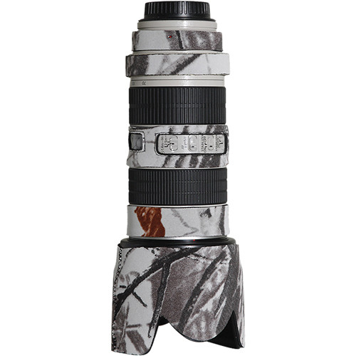 LensCoat Lens Cover for the Canon 70-200mm f/2.8 IS Lens (Realtree AP Snow)