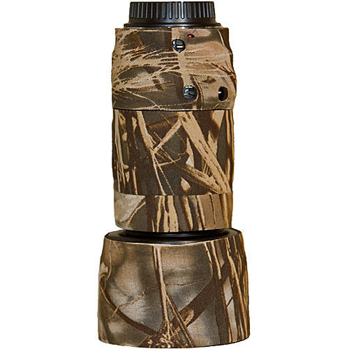 LensCoat Lens Cover for Canon 70-300mm f/4-5.6 Lens (Realtree Max4)