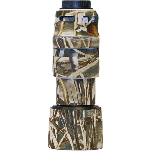 LensCoat Lens Cover for the Canon 70-300mm f/4-5.6 L Lens (Realtree Max4 HD)