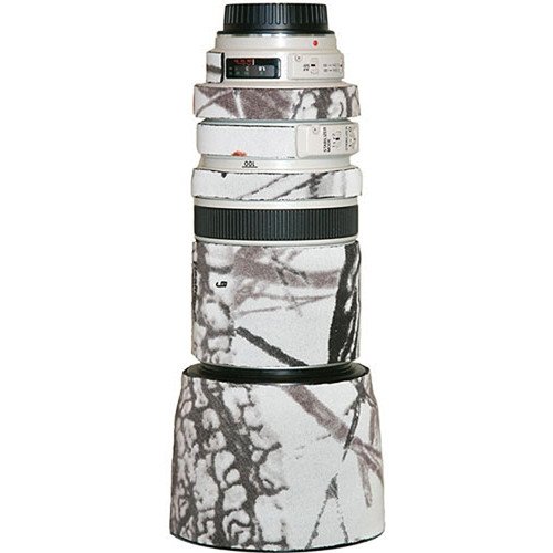 LensCoat Lens Cover for Canon 70-200mm f/2.8 Non-IS Lens (Realtree AP Snow)