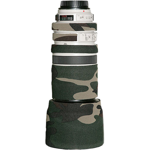 LensCoat Lens Cover for the Canon 70-200mm f/4 IS Lens (Forest Green)
