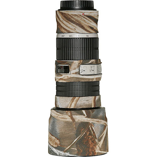 LensCoat Lens Cover for the Canon 70-200mm f/4 IS Lens (Realtree Max4 HD)
