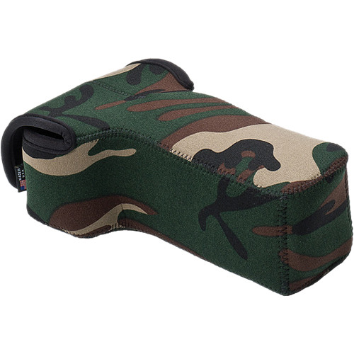 LensCoat BodyBag Compact Telephoto (Forest Green)