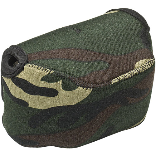 LensCoat BodyBag Point and Shoot Large Zoom (Forest Green Camo)