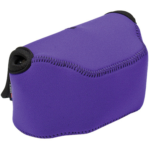 LensCoat BodyBag Point and Shoot Large Zoom (Purple)