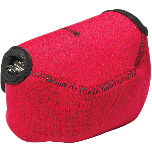 LensCoat BodyBag Point-and-Shoot Large Zoom (Red)