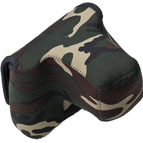 LensCoat BodyBag Pro with Lens (Forest Green Camo)