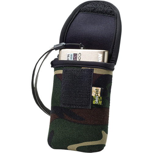 LensCoat BodyBag PS Camera Cover (Forest Green Camo)