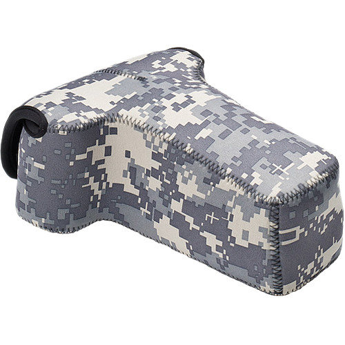 LensCoat BodyBag Telephoto Camera Case (Digital Camo)