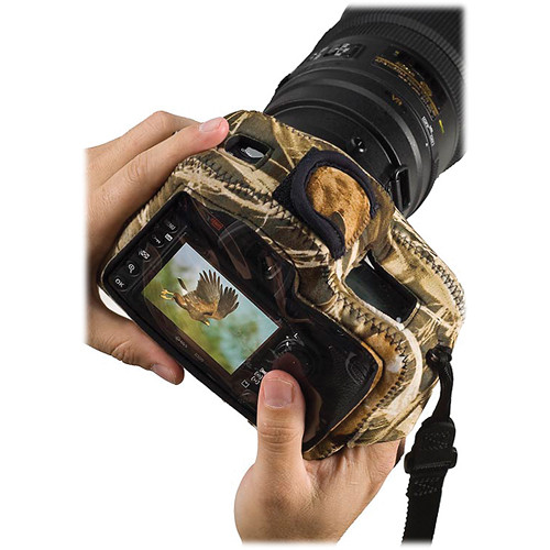 LensCoat BodyGuard Clear Back Camera Case (Realtree MAX-4 HD)