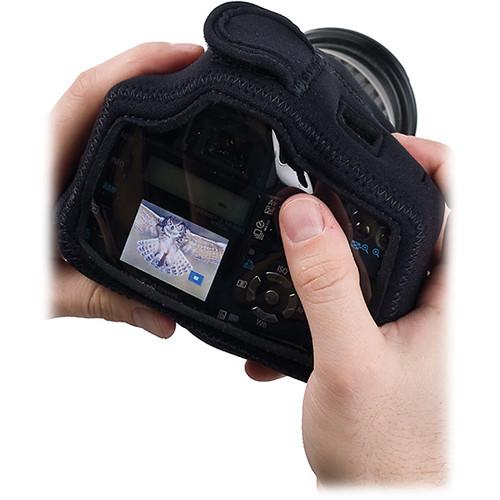 LensCoat BodyGuard Compact Clear Back Case (Black)