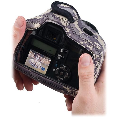 LensCoat BodyGuard Compact Clear Back Case (Digital Camo)