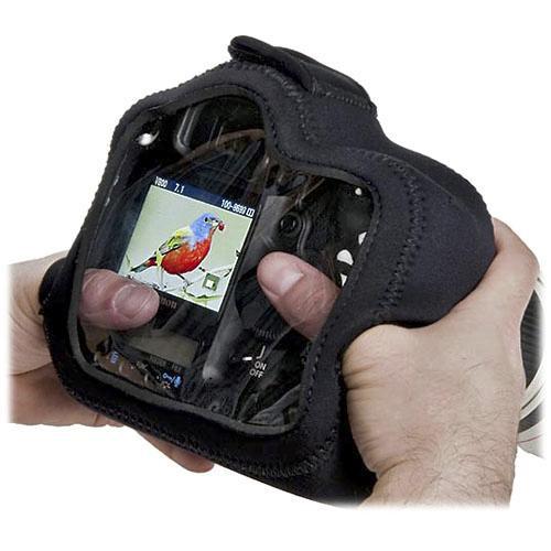 LensCoat BodyGuard Pro CB Clear Back Camera Cover (Black)