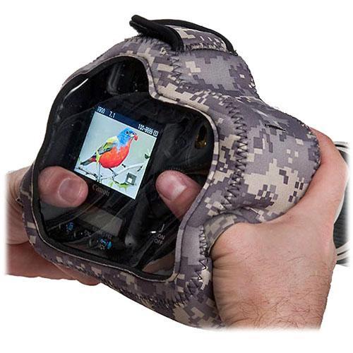 LensCoat BodyGuard Pro CB Clear Back Camera Cover (Digital Camo)
