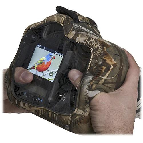 LensCoat BodyGuard Pro Clear Back Camera Case (Realtree MAX-4 HD)