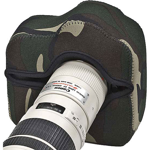 LensCoat BodyGuard Pro Camera Cover (Forest Green Camo)