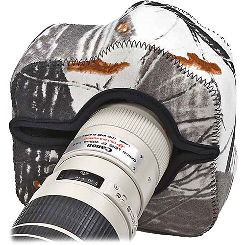 LensCoat BodyGuard Pro Camera Cover (Realtree AP Snow)