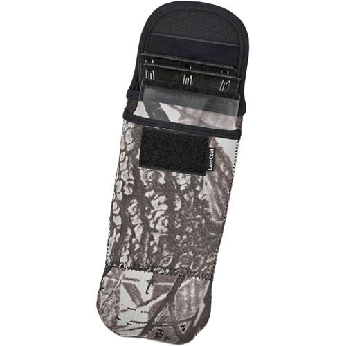 LensCoat BeamerKeeper Pouch for the Better Beamer Flash Extender (Realtree AP Snow)