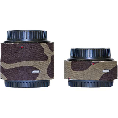 LensCoat Lens Cover for the Canon Extender Set EF III (Forest Green)