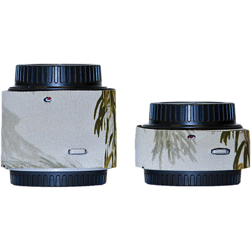 LensCoat Lens Cover for the Canon Extender Set EF III (Realtree AP Snow)