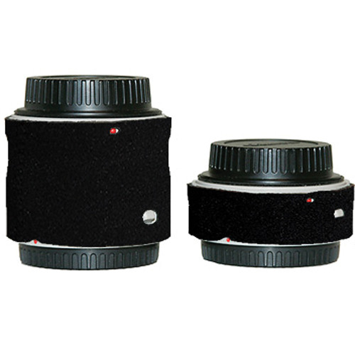 LensCoat Lens Cover for the Canon Extender Set EF II (Black)