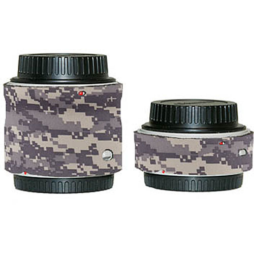 LensCoat Lens Cover for the Canon Extender Set EF II (Digital Camo)