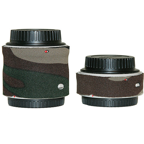 LensCoat Lens Cover for the Canon Extender Set EF II (Forest Green Camo)