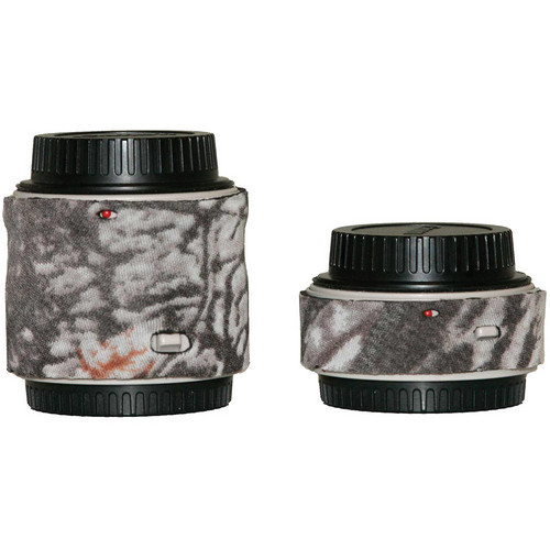 LensCoat Lens Cover for the Canon Extender Set EF II (Realtree AP Snow)