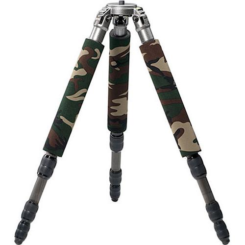LensCoat LegCoat 1348 Tripod Leg Protectors (Forest Green, 3-Pack)