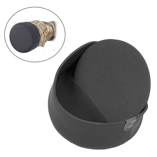 LensCoat Hoodie Lens Hood Cover (Medium, Black)