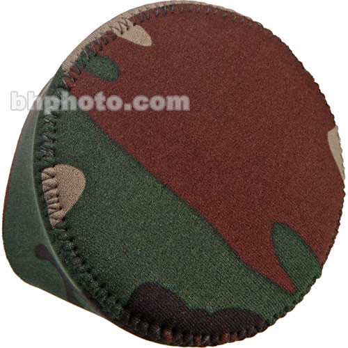LensCoat Hoodie Lens Hood Cover (Medium, Forest Green Camo)