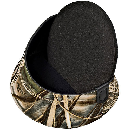 LensCoat Hoodie Lens Hood Cover (Medium, Realtree Max4 HD)