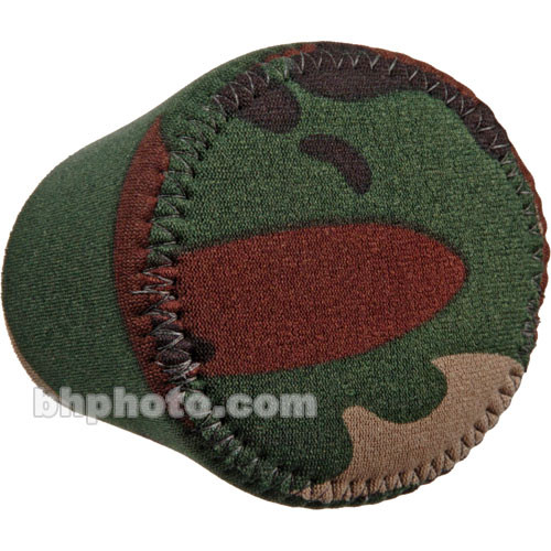 LensCoat Hoodie Lens Hood Cover (Small, Forest Green Camo)