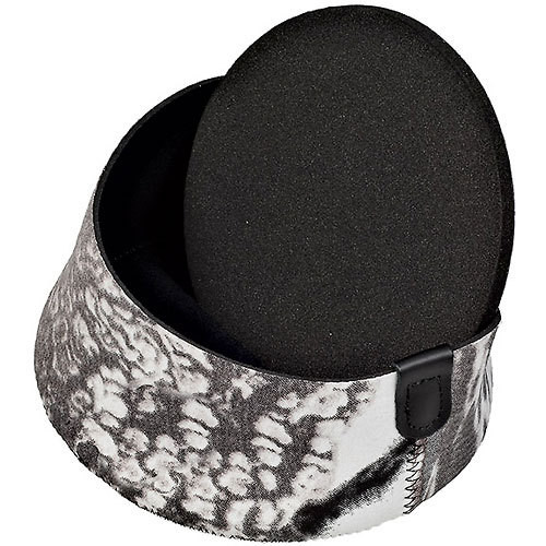 LensCoat Hoodie Lens Hood Cover (Small, Realtree Snow)