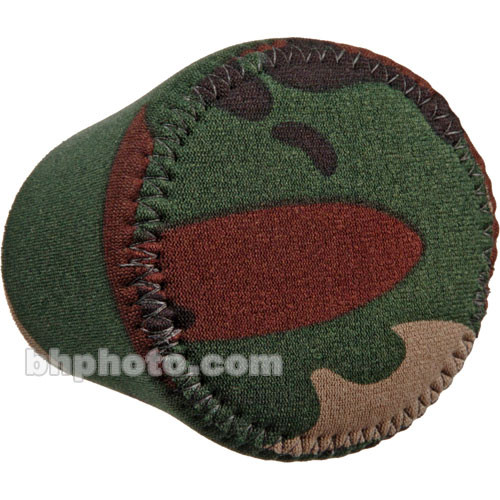 LensCoat Hoodie Lens Hood Cover (X-Small, Forest Green Camo)