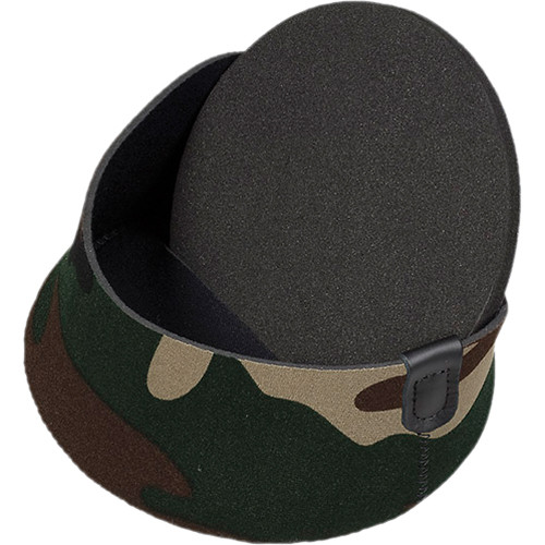 "LensCoat XX-Small  Hoodie Lens Hood Cover for 2.25 to 2.75"" Diameter (Forest Green Camo)"