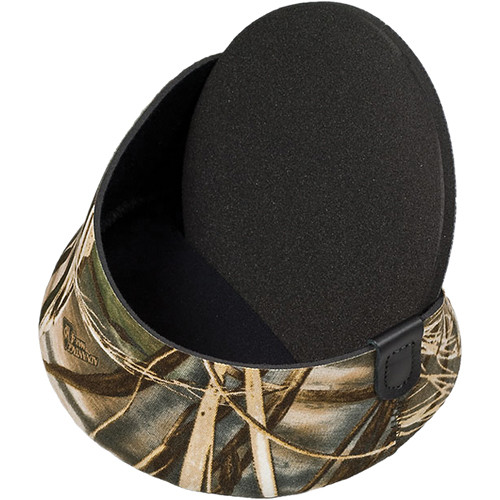 """LensCoat XX-Small  Hoodie Lens Hood Cover for 2.25 to 2.75"""" Diameter (Realtree Max4 HD)"""