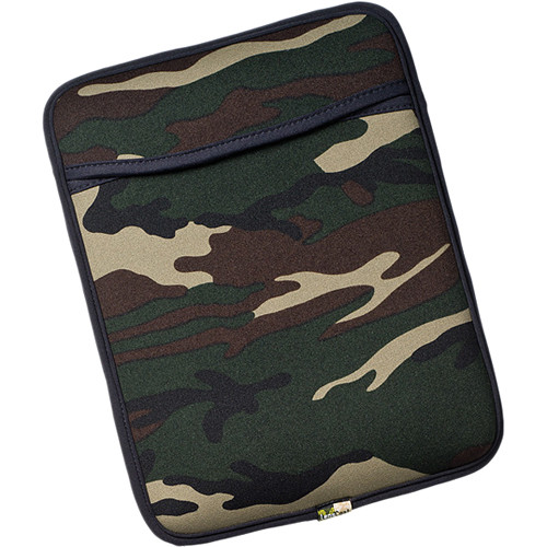 LensCoat Neoprene Sleeve for iPad and iPad 2 (Forest Green Camo)
