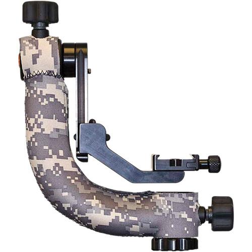 LensCoat Gimbal Tripod Head Cover (Digital Army Camo)