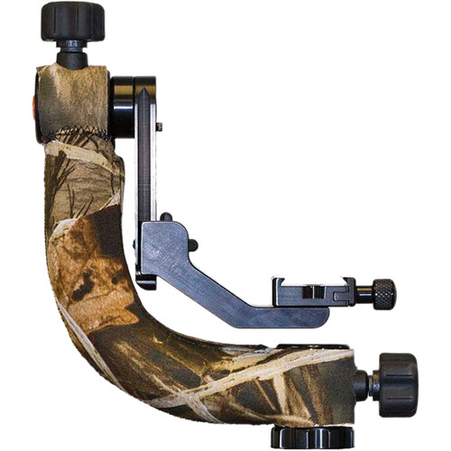 LensCoat Gimbal Tripod Head Cover (Realtree Max4 HD)