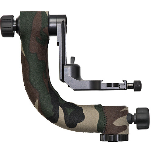 LensCoat Gimbal Tripod Head Cover (Forest Green)