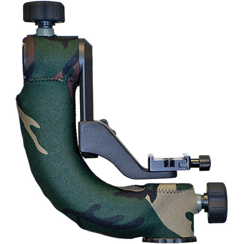 LensCoat Tripod Head Cover for the Jobu BWG-Pro/Pro2 Gimbal Head (Forest Green Camo)